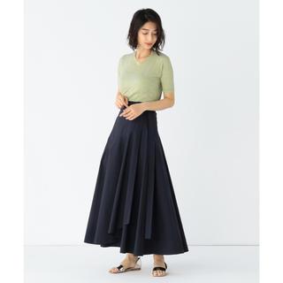 Demi-Luxe BEAMS - ATON 別注ベルトラップスカート