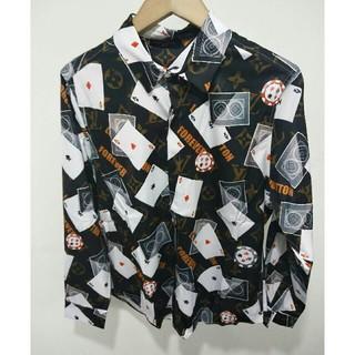 ルイヴィトン(LOUIS VUITTON)のLouis Vuitton シャツ メンズ 長袖 XL (シャツ)