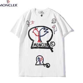モンクレール(MONCLER)のMONCL 個性 おしゃれ ロゴ 着心地よい Tシャツ(Tシャツ/カットソー(半袖/袖なし))