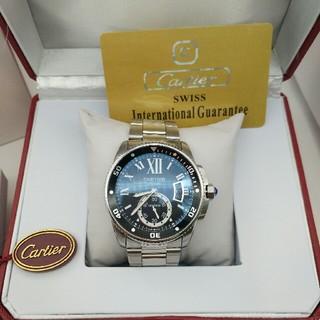 Cartier - 【カルティエ】カリブル ドゥ カルティエ ダイバー W7100057 自動巻