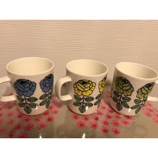 マリメッコ(marimekko)のマリメッコ  ヴィヒキルース   マグカップ(グラス/カップ)