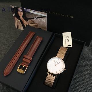 Daniel Wellington - 限定お値下げ☆DW 32ミリセット 時計と替えベルト ホワイト