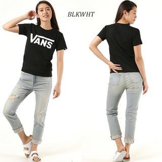 ヴァンズ(VANS)のVANS LOGO BASIC TEE BLK/WHT(Tシャツ(半袖/袖なし))