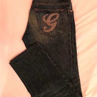 グッチ(Gucci)のGUCCI☆グッチ G装飾デザイン デニムジーンズ サイズ48(デニム/ジーンズ)
