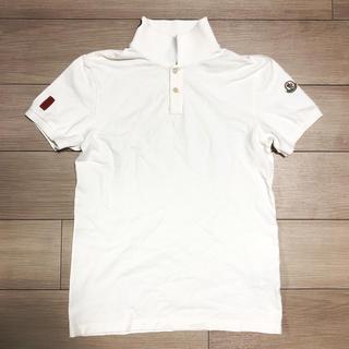 モンクレール(MONCLER)のMONCLER モンクレール 手描きペイント ポロシャツ  S(ポロシャツ)