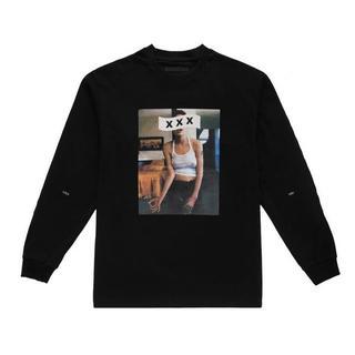 ジィヒステリックトリプルエックス(Thee Hysteric XXX)の新作 新品 ゴッドセレクションXXX L/S ブラックS(Tシャツ/カットソー(七分/長袖))