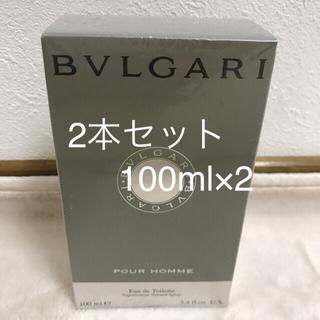 ブルガリ(BVLGARI)のブルガリプールオム 100ml×2本組(ユニセックス)