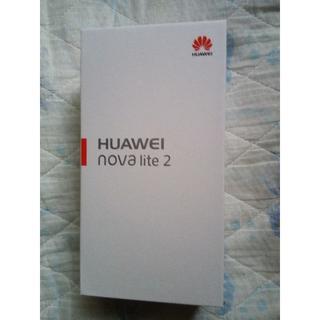 ソフトバンク(Softbank)のHuawei novaLite2(スマートフォン本体)