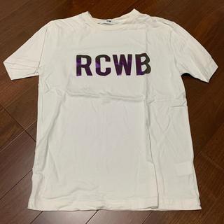 ロデオクラウンズワイドボウル(RODEO CROWNS WIDE BOWL)のRCWB オーロラプリントTシャツ(Tシャツ/カットソー(半袖/袖なし))