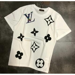 ルイヴィトン(LOUIS VUITTON)のLOUIS VUITTON 高品質 男女兼用Tシャツ 半袖 カジュアル(Tシャツ/カットソー(半袖/袖なし))