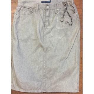 ラルフローレン(Ralph Lauren)のラルフローレン デニムスカート(ひざ丈スカート)