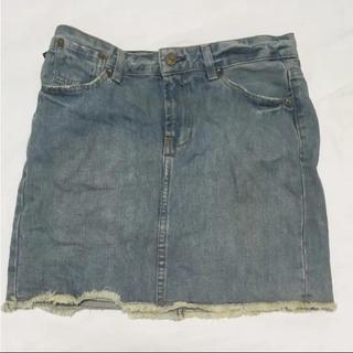 ラルフローレン(Ralph Lauren)のラルフローレン ポロジーンス  デニムスカート  Lサイズ(ミニスカート)