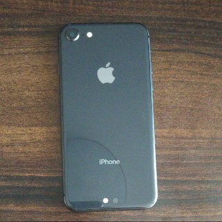 iPhone - SIMフリー iPhone8 spacegray 64GB
