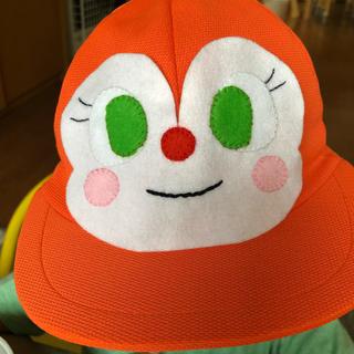 アンパンマン(アンパンマン)のカラー帽子 ドキンちゃん ワッペン デコ 幼稚園帽(各種パーツ)