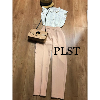 PLST - ☆PLST☆プラステ  テーパードパンツ