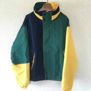 アディダス(adidas)の90s Hemigway 古着 ナイロンジャケットビッグサイズシルエットオーバー(Tシャツ(半袖/袖なし))