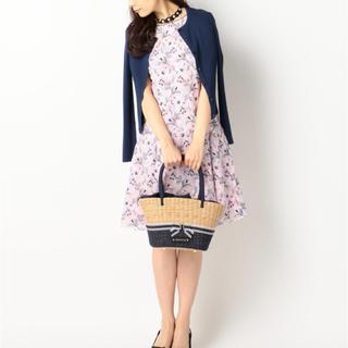 トッカ(TOCCA)の【定価7万】TOCCAトッカ STRAW FLOWER ドレス size2(ひざ丈ワンピース)