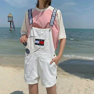 TOMMY HILFIGER - TommyサロペットGパン