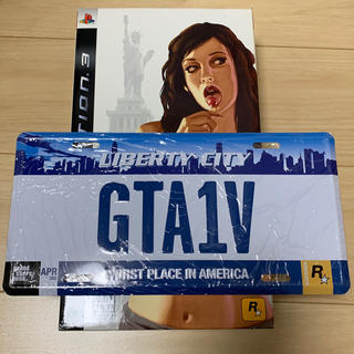 PlayStation3 - GTA4 Special Edition ナンバープレート 激レア 日本未発売