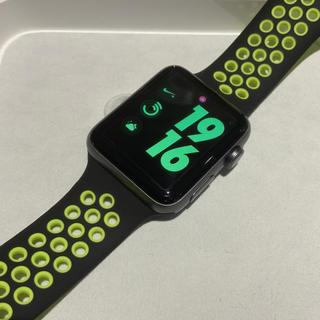 アップルウォッチ(Apple Watch)の(純正品) Apple Watch series3 42mm NIKE+ GPS(腕時計(デジタル))