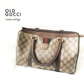 良品 ◆ Italia製 vintage オールドグッチ シェリーラインバッグ◆