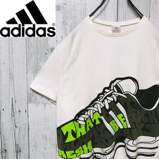 adidas - アディダス adidas☆ビッグロゴ スニーカーロゴ ゆるだぼ  Tシャツ