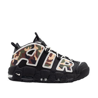 ナイキ(NIKE)のNIKE AIR MORE UPTEMPO '96 (BLACK / CAMO)(スニーカー)