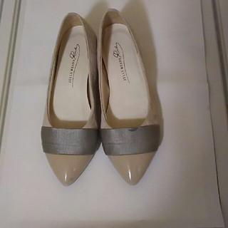 ヒール靴 ベージュ 21.5cm(ハイヒール/パンプス)