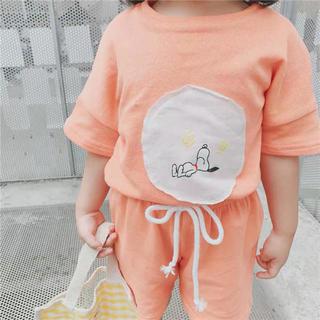 子供服セットアップ スヌーピー セットアップ