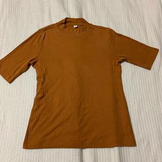 ユニクロ(UNIQLO)のUNIQLO(ユニクロ)リブハイネックT 5分袖 (Tシャツ(長袖/七分))