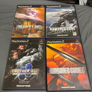 プレイステーション2(PlayStation2)のアーマード・コア セット(家庭用ゲームソフト)