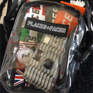 PLACES+FACES クリアバッグ PVC Side Bag
