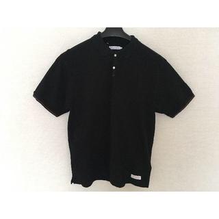 デラックス(DELUXE)の【deluxe】日本製黒ポロシャツ(ポロシャツ)