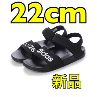 アディダス(adidas)の《新品 新作》 adidas アディレッタ 22.0cm 他サイズ有り(サンダル)