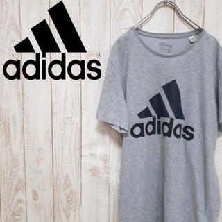 アディダス(adidas)の【激レア】アディダス 半袖Tシャツ サンプル品 ビッグロゴ ゆるダボ(Tシャツ/カットソー(半袖/袖なし))