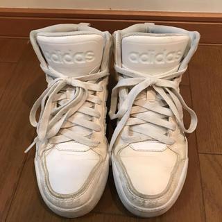 アディダス(adidas)のアディダス スニーカー ホワイト ハイカット(スニーカー)