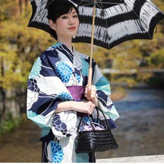 ★大人女子向け★レトロ浴衣3点セット★菊
