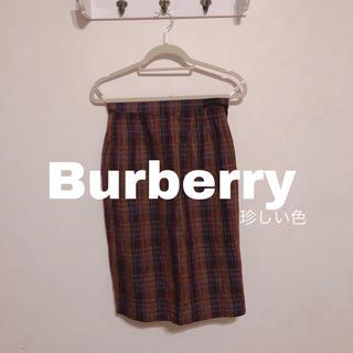 バーバリー(BURBERRY)のBurberry タイトスカート スカート(ひざ丈スカート)