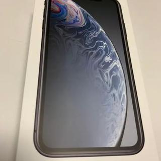 iPhoneXR 64GB  黒 SIMフリー済み 商品説明必須 即購入可能
