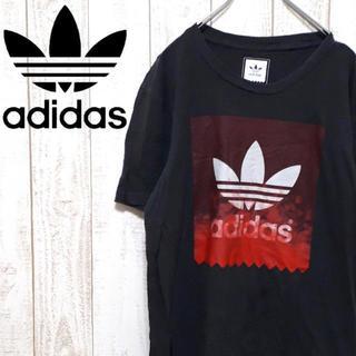 アディダス(adidas)のアディダスオリジナルス 半袖Tシャツ ビッグロゴ ビッグトレフォイル  一点物(Tシャツ/カットソー(半袖/袖なし))