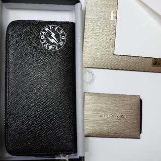 ブルガリ(BVLGARI)のオンライン即完売 BVLGARI × FRAGMENT ZIP付き長財布(長財布)