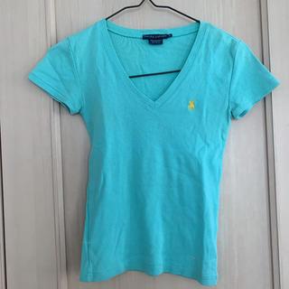 ラルフローレン(Ralph Lauren)のラルフローレン エメラルドグリーン Tシャツ S-M(Tシャツ(半袖/袖なし))