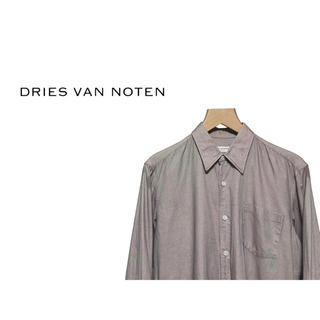 ドリスヴァンノッテン(DRIES VAN NOTEN)のDRIES VAN NOTEN 織り目柄 チェック シャツ / ドレス (シャツ)