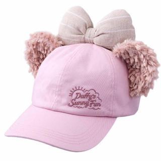 Disney - ダッフィー サニーファン ピンク シェリーメイ キャップ 帽子 TDS リボン