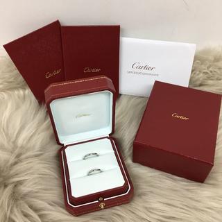 カルティエ(Cartier)のカルティエ 結婚指輪 ペアリング Pt950 (リング(指輪))