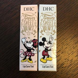 ディーエイチシー(DHC)のDHC  リップケア ティント  セット  ミッキー  ミニー(リップケア/リップクリーム)