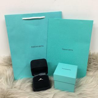 ティファニー(Tiffany & Co.)の新品 ティファニー ハートシェイプ ダイヤリング 0.42ct (リング(指輪))