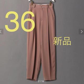 BEAUTY&YOUTH UNITED ARROWS - <6(ROKU)>GEORGETTE TUCK PANTS パンツ