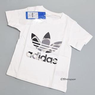 adidas - 100【新品/即日発送】adidas オリジナルス キッズ Tシャツ IC 白