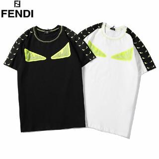 フェンディ(FENDI)の2枚7000円送料込み 男女兼用 Tシャツ 半袖 美品  (Tシャツ/カットソー(半袖/袖なし))